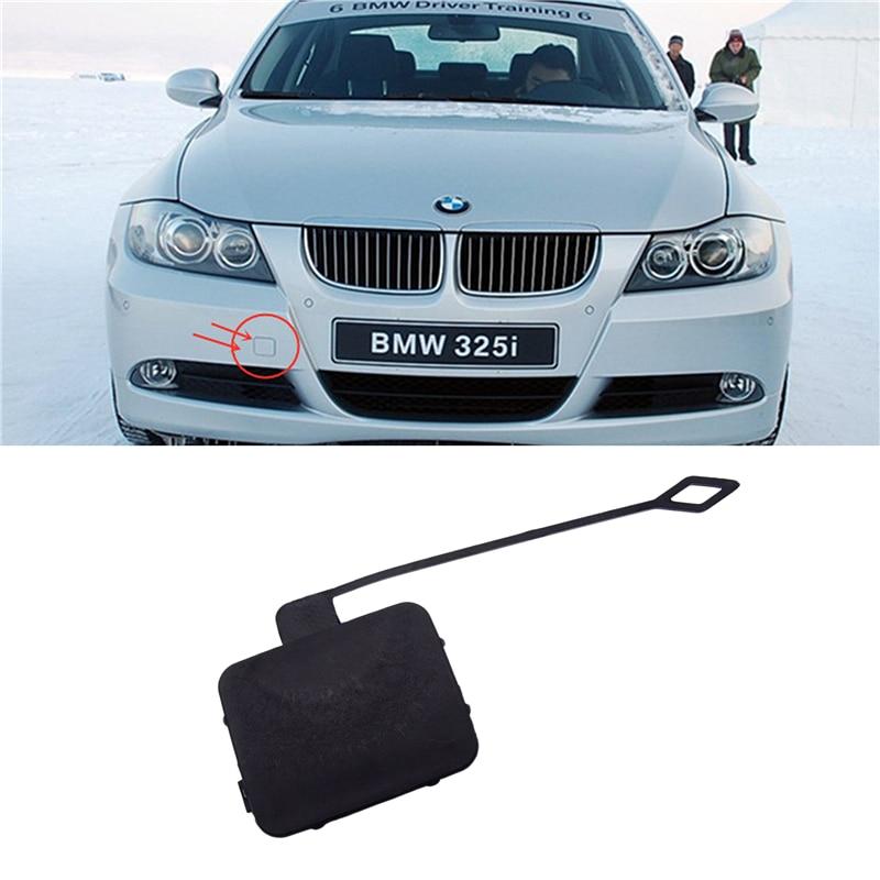 Replaces Car Rear Bumper Tow Hook Cover Cap For BMW 3-Series E90 E91 328i 335d
