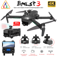 ZLL SG906 MAX PRO 2 PRO2 GPS Drone 4K HD Kamera Laser Hindernis Vermeidung 3-Achsen Gimbal WiFi FPV Professionelle RC Quadcopter