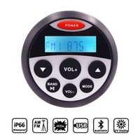 Guzare Marine Wasserdichte Bluetooth Stereo Radio Audio FM AM Empfänger Auto MP3 Player Sound System Für Motorrad Boot SPA ATV UTV