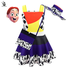 Girls Dress Jessie Costume Toy Kids Dresses Story Girl Fancy Party Halloween for Costumes