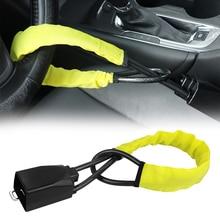 Lock Seat-Belt-Lock Steering-Wheel Security Anti-Theft-Handbag 2-Keys Vehicle SUV Most-Cars