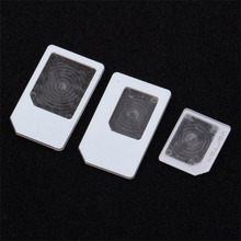 3 pcs For nano SIM for Micro Standard Card Adapter Tray Holder Adapters For iPhone 5 Free / Drop Shipping micro sim card to standard sim card adapter for iphone 4 4s more blue 10 pcs