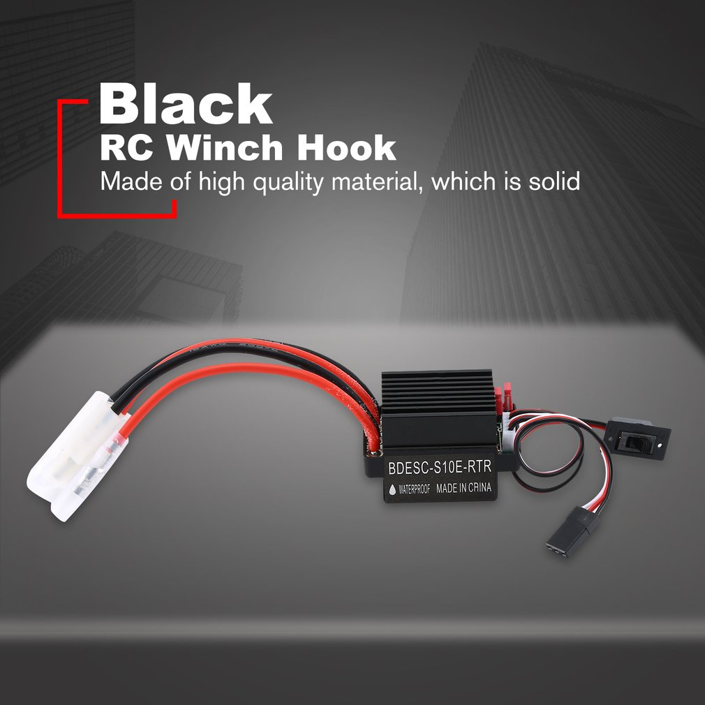 ESC 320A Professional Parts Durable Hobby Speed Controller Brushed Motor For RC Boat Car Easy Use High Voltage Replacement Mini