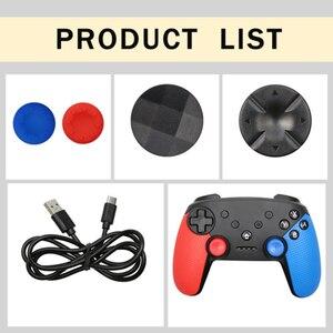 Image 5 - Bluetooth Draadloze Game Controller Joypad Voor Nintend Schakelaar Ns Console Gamepad Pro Joystick Voor Android Telefoon/Pc Controle