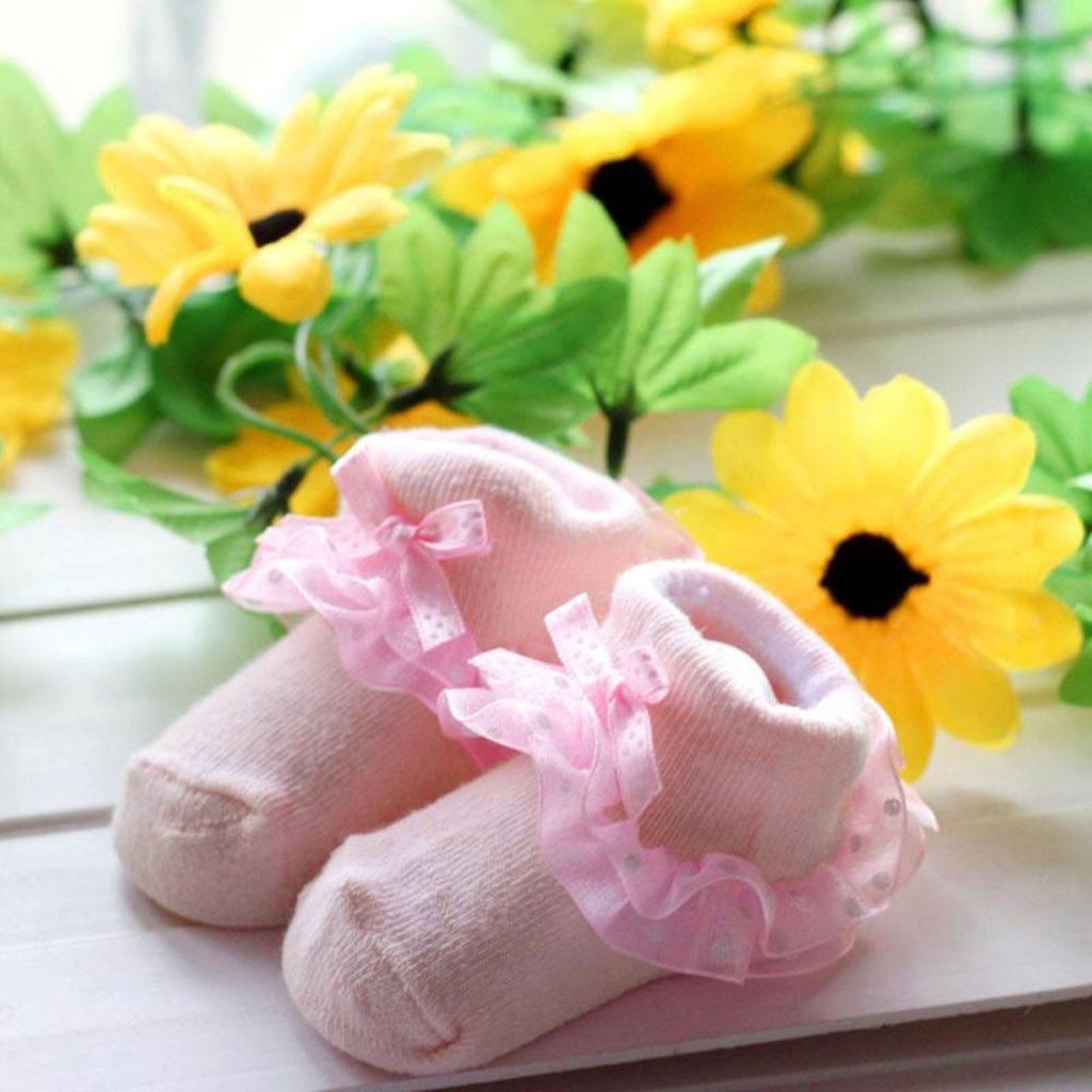 Dropshipping Toddlers Combed Cotton Ankle Socks Baby Girls Bowknots Socks Cute Shoes Abbigliamento E Forniture Per Bambini
