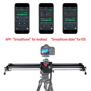 Image 4 - Bluetooth Carbon Camera Slider Motorized TimeLapse Electric Delay Slide Track Rail Stabilizer for Photography Canon DSLR Video