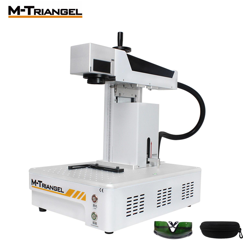 MTriangel Parti 10w 20W 30W Fiber Laser Machine de Gravure laser de alta potencia coupeur de laser pour le Métal et le plastique graveur