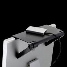 Tela ajustável prateleira de exibição superior computador monitor riser desktop suporte tv rack armazenamento mesa