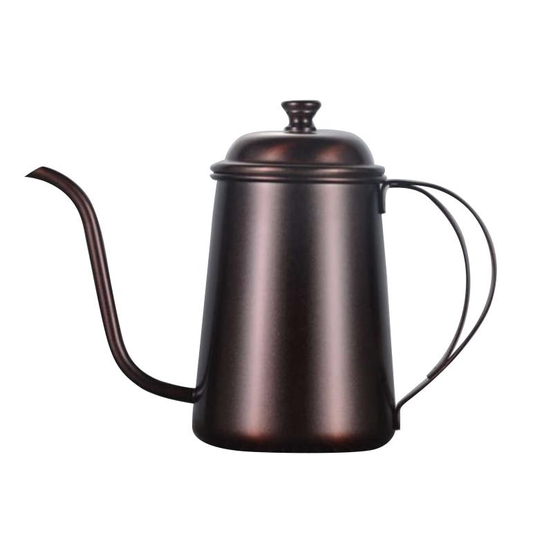 Hot Kettle Pour Over Coffee Tea Hand Drip Pot Home Kitchen Appliances|Coffee Pots| |  - title=