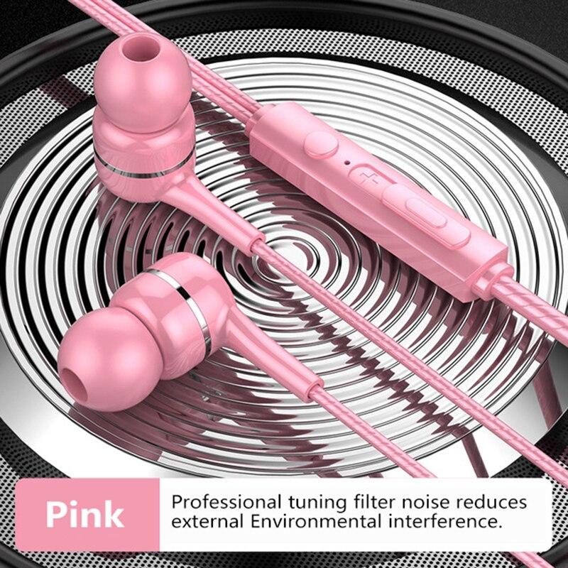 Спортивные наушники HIFI, оптовая продажа, проводные наушники 3,5 мм с ультра басами, цветные наушники с микрофоном, гарнитура для Samsung, Huawei
