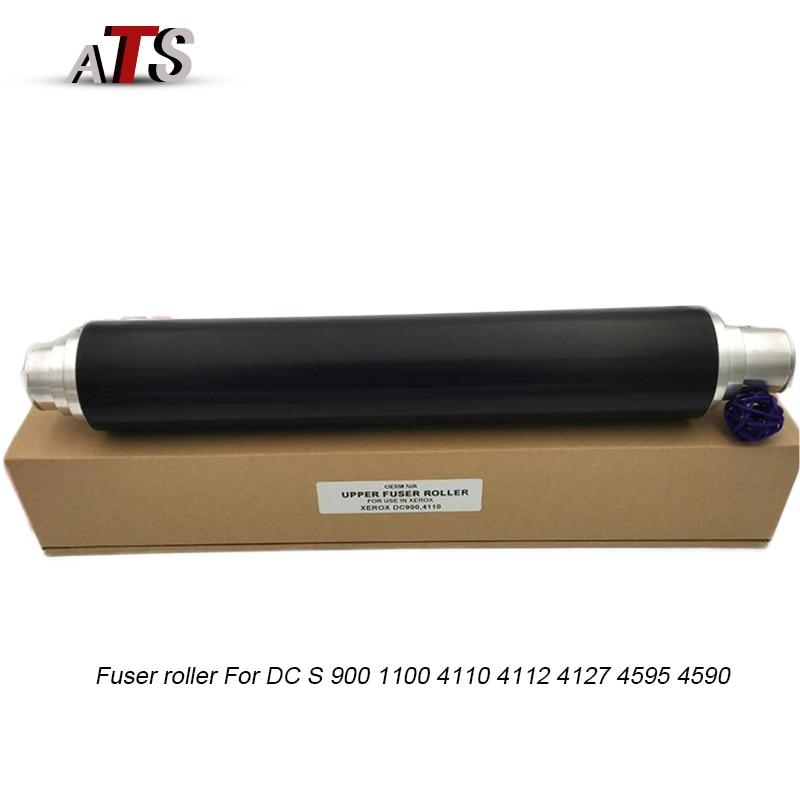 Heat Upper Fuser roller  For Xerox DC 900 1100 4110 4112 4127 4595 4590 Compatilbe DC900 DC1100 DC4110 DC4112 DC4127 DC4595-in Fuser Roller from Computer & Office    1
