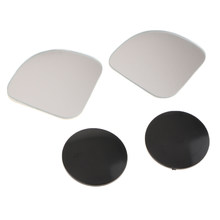 1 Pair Car Blind Spot Mirrors Glass 360 Wide Angle Adjustable Mirrors(China)