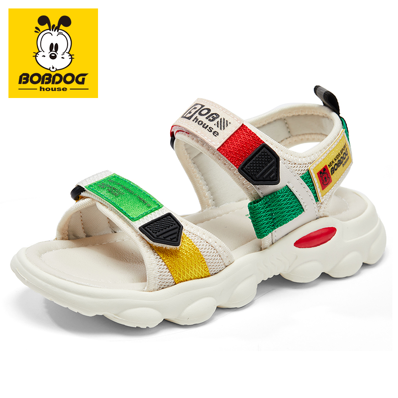 BOBDOG House Kids Shoes Korean Fashion Breathable Baby Shoes Sports And Leisure Children's Shoes BLZ8672