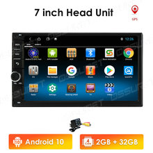 BT Radio Dvd-Player Android Universal Network 10-7inch 32G 2-Din 2GB-RAM 4G Gps-Wifi