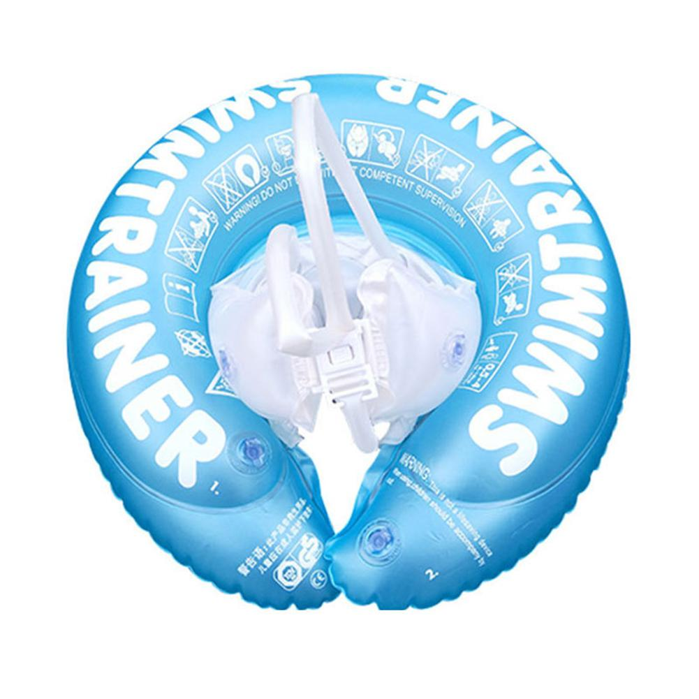 Baby Oxter PVC Inflatable Swimming Ring With Safety Belt Design Floating Life Buoy