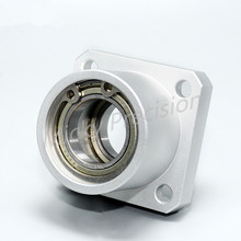 Housing-Bearings Flange Aluminum with Supporting-Seat Positioning And Insert-Type Diameter-8-25