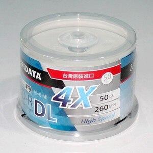 Image 5 - Caja de inyección de tinta en blanco RIDATA, doble capa, 50GB, disco DL original, 50 unidades