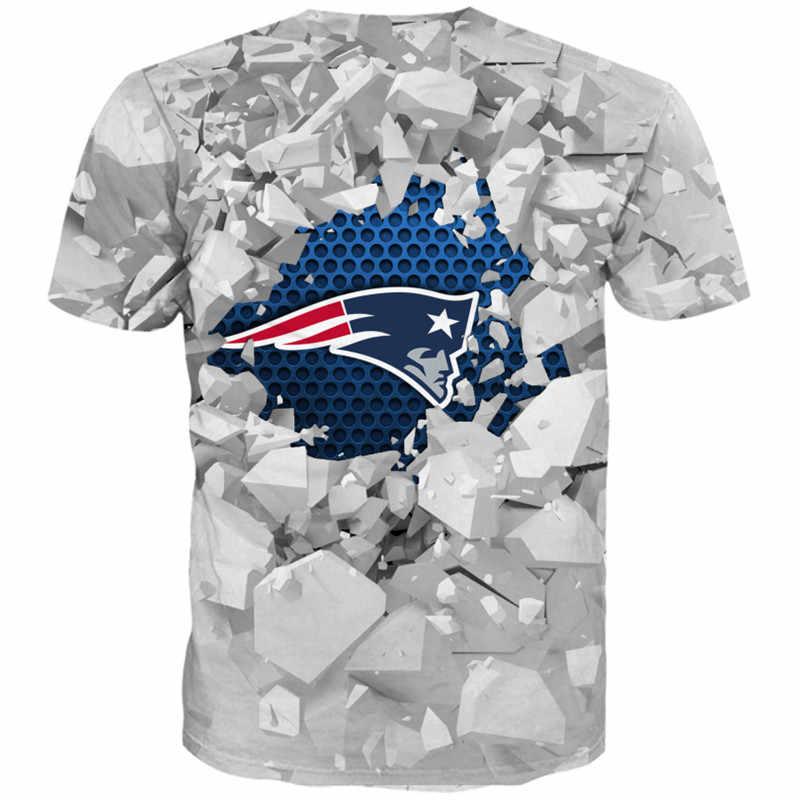 조각 인쇄 된 3D Tshirt 1