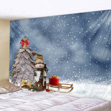 Christmas snowman Art Home Wall Hanging Tapestry Wall Ornamentation Christmas Wall Decor High Quality Tapestry Home Decor