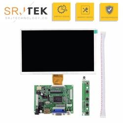 Srjtek 9 polegada display lcd tft escudo módulo de exibição hdmi + vga placa driver vídeo para raspberry pi