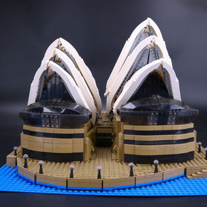 Image 3 - 88003 Expert Set Creator Sydney Opera House Compatible 10234 Building Blocks Bricks Birthday Birthday Christmas Gifts Toys