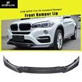 Передний бампер спойлер для BMW F16 X6 xDrive Sport Utility Standard бампер 2014-2018 углеродное волокно/FRP спойлер