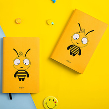 Kawaii Bee A6 Planner Organizer Cute Diary Notebook and Journal Mini Horizontal Line DIY Agenda Travel Weekly Note Book School стоимость
