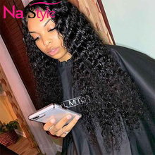 Curly Wig Deep Part 13x6 Lace Front Human Hair Wigs