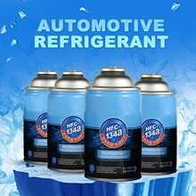 Substituição automotivo do filtro de água da proteção ambiental do refrigerador do agente r134a do líquido refrigerante do condicionamento de ar 300ml