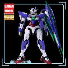 Gundam mg 1/100 mb 00q quanta coleção anime figuras de brinquedo de ação animação cinema jogo de brinquedo das crianças presentes de natal