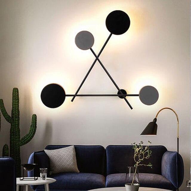 Фото настенные светодиодсветодиодный лампы в скандинавском стиле цена