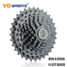 VG Sports Cassette 9 Speed 32T MTB Flywheel Cycling Parts Sprocket Freewheel Fixie cdg cog for Shimano Sram Velocidade 11-32T