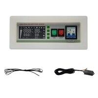 XM-18SD Automatic Egg Incubator Controller Digital LED Temperature Controller Temperature Humidity Sensors Egg Hatcher Controlle