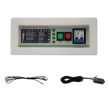XM-18SD Automatic Egg Incubator Controller Digital LED Temperature Controller Temperature Humidity Sensors Egg Hatcher Controlle