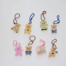 Backpack Airpods-Case Cute Key-Chain Cartoon Kawaii Bear Cool Pendant Toy Ins Stationery-Accessories