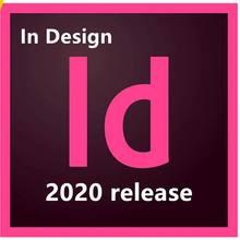 Software indesign cc 2020 página profissional layout design win/mac