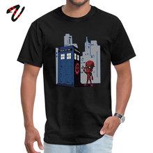 Superman Deadpool Marvel Comic Tshirts Tardis Ironman Doctor Who Great T Shirts 3D Printed Avengers Endgame Men Tees Cotton