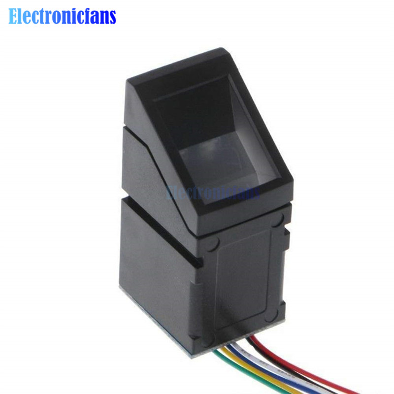 <font><b>R307</b></font> Optical Fingerprint Sensor Reader Scanner Module Sensor Reader Door Lock Access Control Finger Touch Function for Arduino image