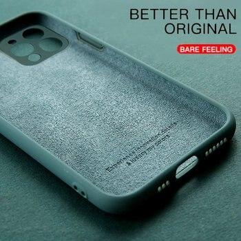 For Mi 11 Cover Case for Xiaomi Mi 11 lite 10T Poco M3 X3 Pro F3 Redmi Note 10 9 Pro 9T 10T Original Liquid Silicone Case Mi 11 1