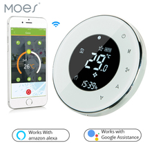 Smart Home BHT-6000-GALW Water floor Heating LCD Touch Screen Wifi Thermostat with Remote Control Works with Alexa Google Home