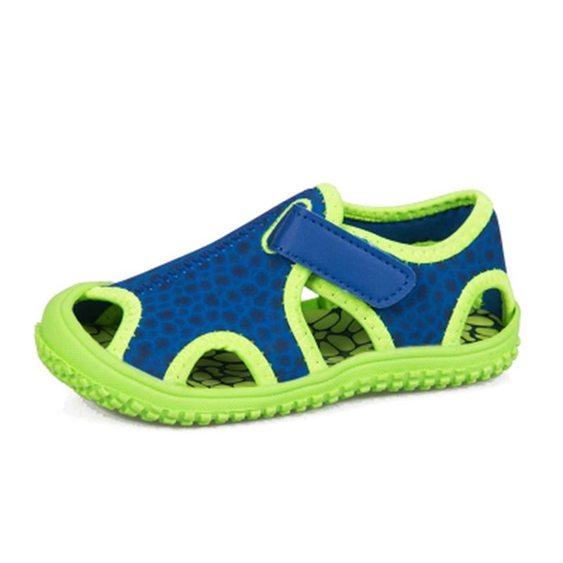 2020 Summer Paragraph 26-36 Code  Kids Non-slip Barefoot  Soft Bottom Children's Beach Shoes Men's Big Sandals