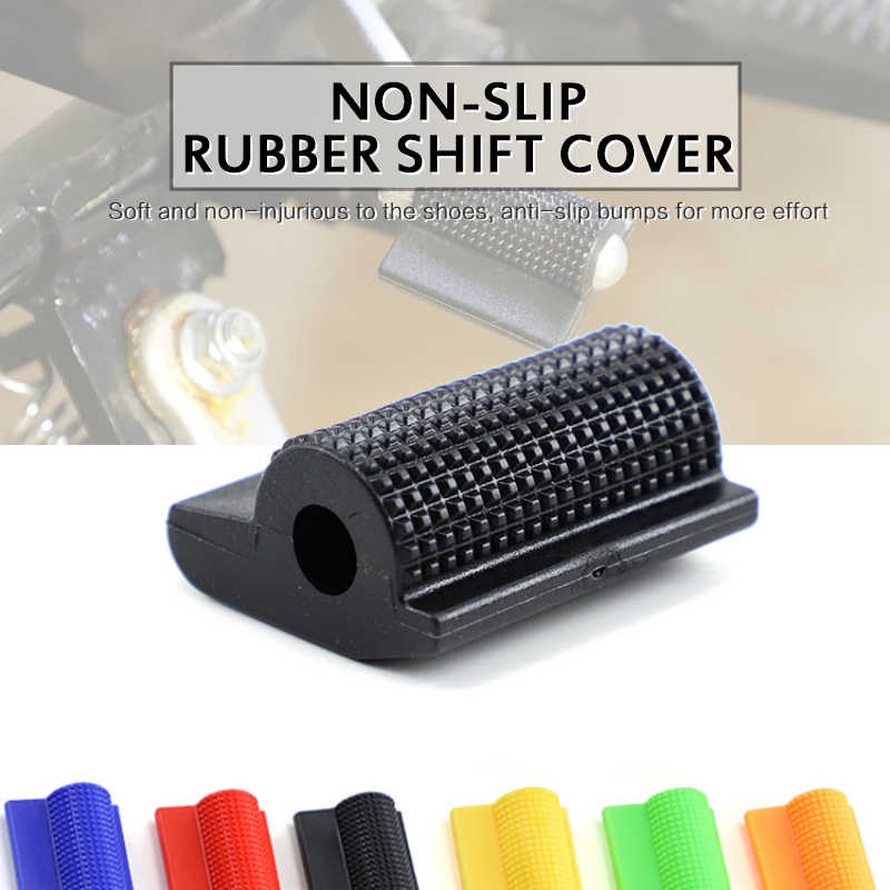 TTFLY Motorcycle Gear Lever Protective Sleeve Soft Anti-slip Rubber Durable Accessories
