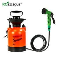 Garden Pump Sprayer for Flowers with Multifunction Water Gun Car Wash Misting Nozzle Garden Spray Bottle Pressure Sprayer Set