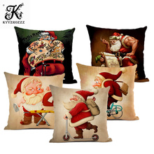 45x45cm Gods Birth of A Halloween Pillowcase Cotton Sheets Tree New Years Decorative Pillow for Sofa Bed Double-sided Printing