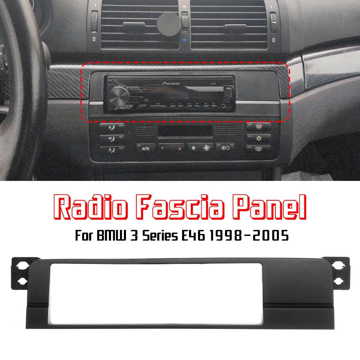 CT24BM04 CD Radio Stereo Cruscotto Fascia Surround Trim si adatta BMW SERIE 3 E90 E91