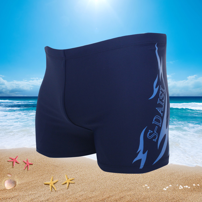 2018 New Style Men Europe And America Swimming Trunks Hot Selling Fashion Sexy Elasticity Large Size Bikini Bottoms A