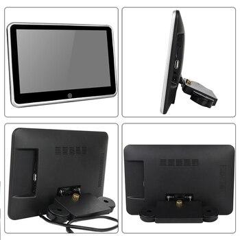 10.1 بوصة سيارة المخده مراقب MP5 لاعب مرآة رابط HD 1080P FM بلوتوث مراقب مع USB / SD الوسائط المتعددة لاعب 2