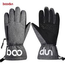 Зимние лыжные перчатки для сенсорных экранов мужчин и женщин