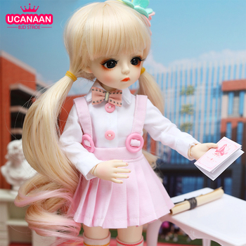 1/6 Bjd Doll 30CM Gifts For Girl 18 Joints With Clothes DIY Best Handmade Beauty Toy - discount item  60% OFF Dolls & Accessories