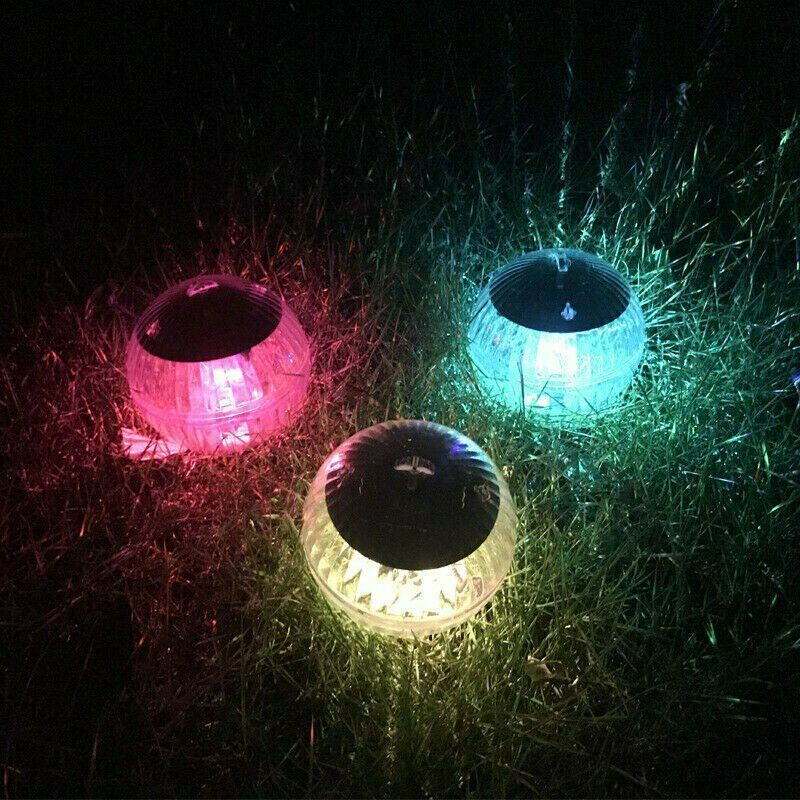 Outdoor Garden Waterproof Ball Light Pool Pond Color Change Pool Light Floating Led Solar Lamp Solar Light For Garden Decoration